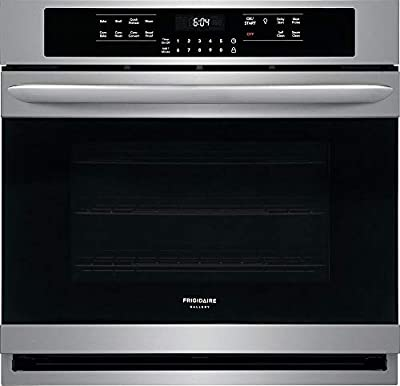 """Frigidaire Gallery 30"""" Smdge-Proof Stainless Steel Single Electric Wall Oven"""