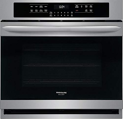 Frigidaire FGEW3066UF Gallery Series 30 Inch 5.1 cu. ft. Total Capacity Electric Single Wall Oven in Stainless Steel