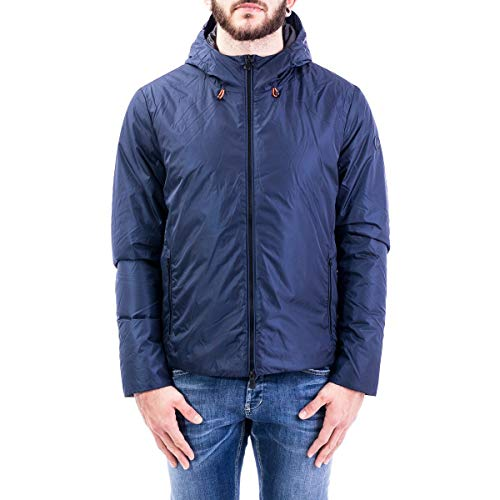 Luxury Fashion | Save The Duck Heren D3865MMEGAX00009 Donkerblauw Polyamide Outerwear Jassen | Lente-zomer 20