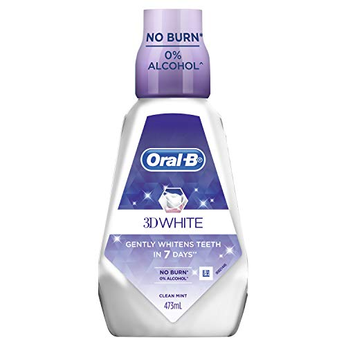 Oral-B 3D White Luxe Diamond Strong Clean Mint, 473ml