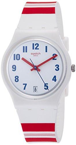 Swatch Orologio Digitale Quarzo da Donna con Cinturino in Silicone GW407