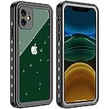 AICase Funda Impermeable iPhone 11 [Anti-rasguños][Protección de 360 Grados],Case Protectora con Protector de Pantalla Incorporado para Apple iPhone 11