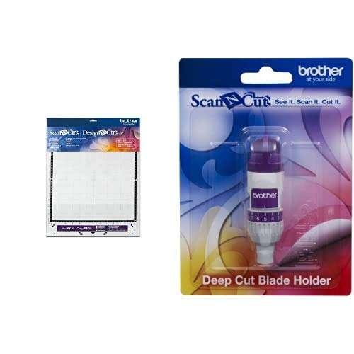 Support Standard 30,5x30,5cm Scan N Cut - Brother & Support pour Lame découpe Profonde Scan n Cut