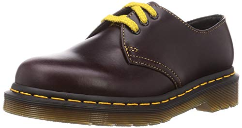 Dr. Martens unisex adult 1461 Oxford, Oxblood Atlas, 8 Women 7 Men US