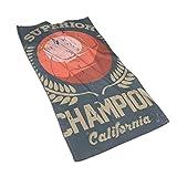 Superior California Champion Kitchen Towels-Dish Cloth-Machine Lavable a máquina Paños de Cocina, paños de Cocina y paños de Cocina 27.5 * 15.7In