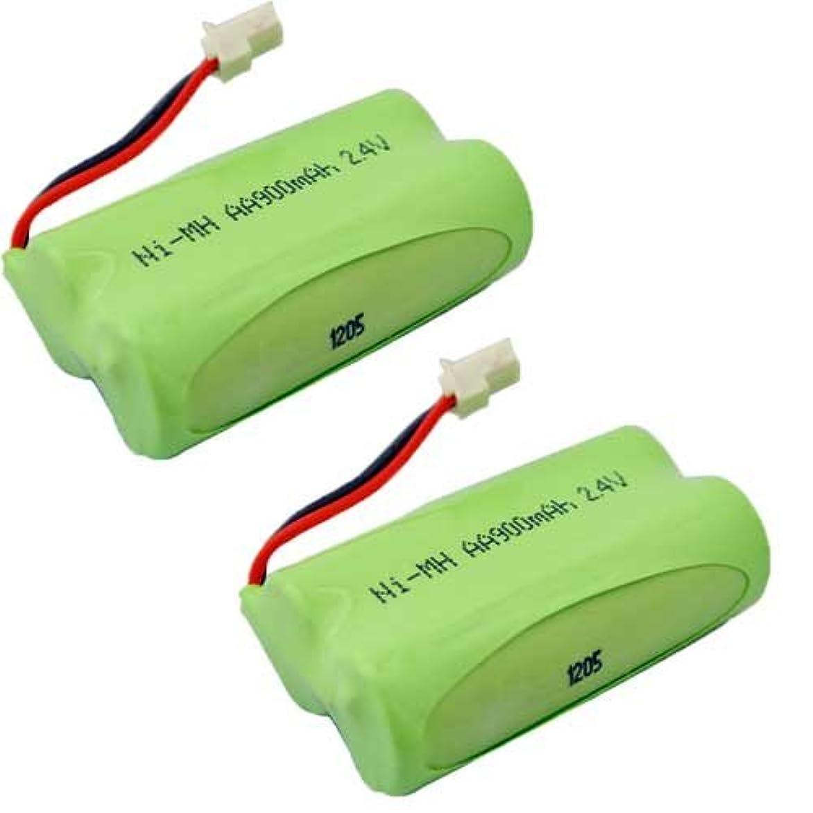先行する義務付けられたスクリュー【掘出】2個セット サンヨー ( SANYO ) コードレス子機用充電池 【 NTL-14 / HHR-T315 / BK-T315 対応互換電池 】