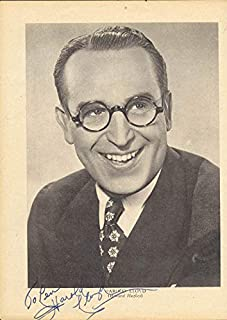 Harold Lloyd - Inscribed Magazine Photo Signed