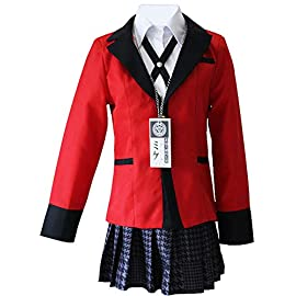 Yumeko Jabami Costume School Uniforms Anime Cosplay Party Full Set