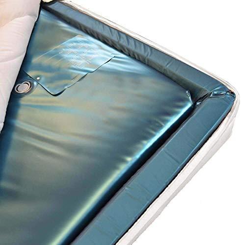 Traumreiter Wasserbettmatratze Softside Dual 100% (0 Sek.) Wassermatratze 90x200 für 180x200 cm Wasserbett I 180 x 200 Wasserkern-Matratze Duo