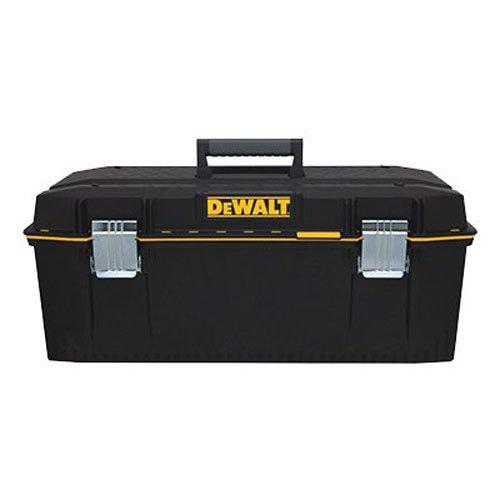 DeWalt DWST28001 Structural Foam Water Seal Plastic Tool Box,Black,28' x 12-3/4' x 11-5/8'