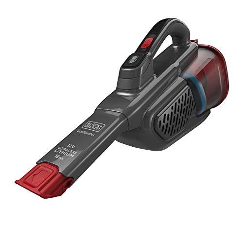 BLACK+DECKER BHHV315J-QW Aspirabriciole Senza Fili Potente a Batteria Litio Bocchetta Aspirante Estendibile, 2 Livelli di Aspirazione, Ottimo per le Altezze, Contenitore Rimovibile, 700ml 12V 18Wh