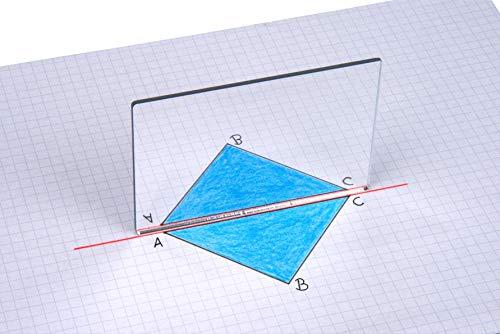 Betzold Geometrie-Spiegel Klassenset, 25 Stück, Spiegelsymmetrie, - Raumvorstellung Geometrie Logisches Denken geometrische Formen Lernspiel Mathematik Schule Kinder Lernen Unterricht
