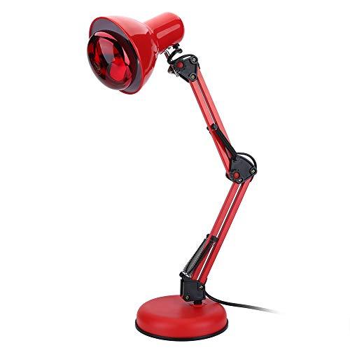 Lámpara de terapia de luz infrarroja, luz infrarroja cálida y relajante para aliviar los dolores musculares y la rigidez de las articulaciones, lámpara de calor infrarroja(UE)