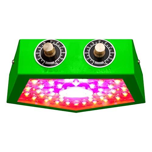 ZJWN LED Lámpara de Planta, 1000W Lámpara de Planta Espectro Completo LED Lámpara de Cultivo de Plantas, Lámpara de Crecimiento Grow Light Indoor con la función Veget/Bloom,Green