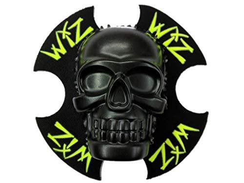 WIZ Racing Knieschleifer SkullZ 3D, Skullz 3D - schwarz