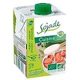 Crema para cocinar de soja bio Sojade 200 ml