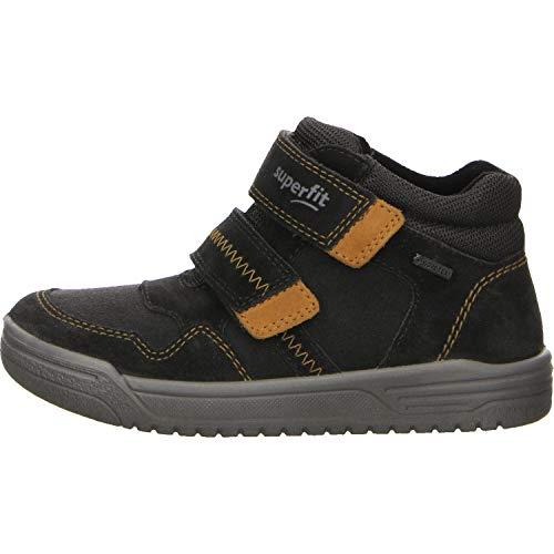 Superfit Jungen EARTH-509057 Hohe Sneaker, Grau (Grau/Gelb 20), 26 EU