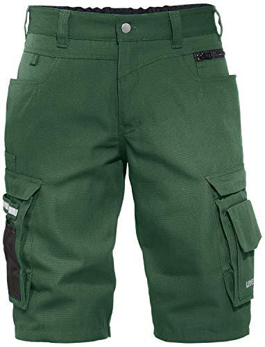 Uvex Perfexxion Premium 3854 Kurze Herren-Arbeitshose - Grüne Männer-Shorts 50