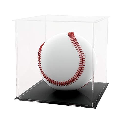 LANSCOERY Acryl Vitrine Selbstmontage Showcase Display case Schaukasten Boxen für Spielzeug Modell Sammlerstücke (10x10x10 cm; 4x4x4 inch)