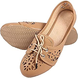 Zap Women's Shoe Belly-Chickoo (S.NO_13)