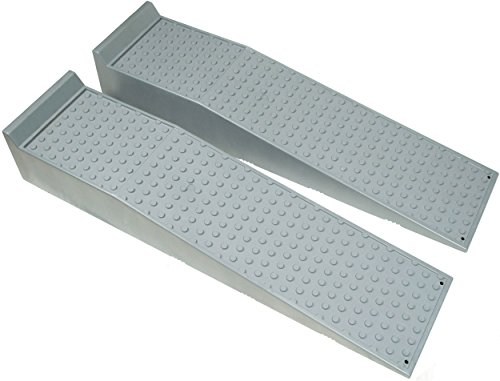 Large Heavy Duty Truck and Car Service Ramps by BUNKERWALL