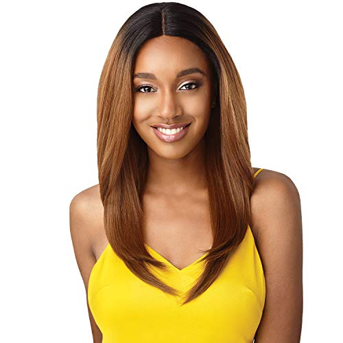 Outre The Daily Wig Synthetic Hair Lace Part Wig MOIRA (1B)