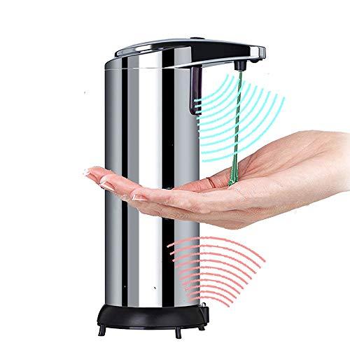 FAGavin Lavado De Inducción De Acero Inoxidable Teléfono Móvil De Inducción Automática Dispensador De Jabón De Baño del Hotel Desinfectante De Manos 250ml 7.5 * 10 * 18.5cm