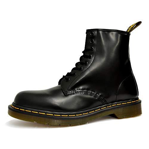 [ドクターマーチン] 8アイ ブーツ 1460 8EYE BOOT メンズ レディース 8ホール 01.ブラック UK7.0(26cm) [並行輸入品]