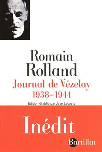 Journal de Vézelay 1938-1944