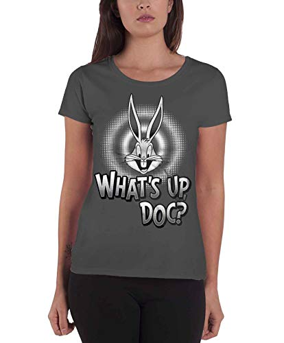 Looney Tunes Camiseta de Mujer Bugs Bunny 'What's Up, Doc': XX Grande
