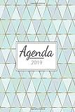 Agenda 2019: Agenda settimanale con calendario 2019 - Pianifica i tuoi appuntamenti quotidiani