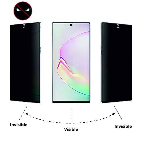 Arrivly Anti-Spähen Panzerfolie für Samsung Note 20 Ultra 5G Blickschutzfolie Privacy Screen Protector [Anti-Spy] TPU Film Blickschutz Folie Sichtschutzfolie [Kein Glas] (Galaxy Note 20 Ultra 5G)