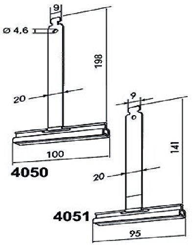 Rademacher 4050 bevestigingsveer rolgordijn bevestigen
