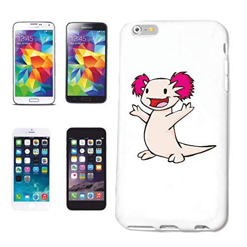 Helene – Carcasa para Samsung Galaxy S7 Edge, divertida Axolotl, monstruo de agua, AXO Axis AquariumHardcase funda funda Smart Cover