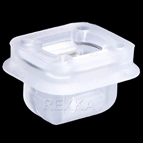 Rexka 20pcs Interior Trim Moulding Door Retainer Trim Finisher Clips E46 E90 E91 X5 Compatible with BMW E46 E90 E91 E92 320i 323i 325i 328i 330i M3 X5 E53 07149158194
