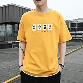 100% cotton short sleeve print men T shirt casual summer men t-shirt loose cool men tshirt tops tee shirt