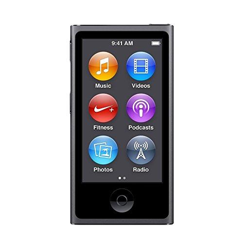 Apple iPod nano 16GB 第7世代 2015年モデル スペースグレイ MKN52J/A