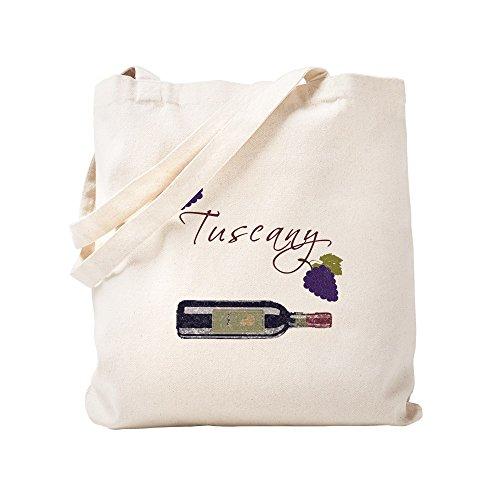 CafePress Einkaufstasche aus Leinen, toskanisch, naturfarben, canvas, khaki, S