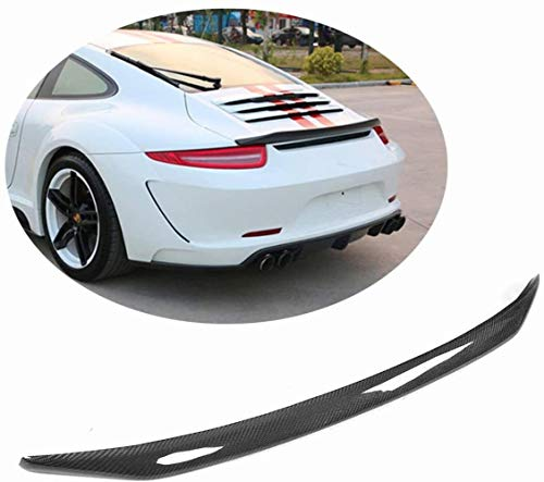 SKNB Kofferraumspoiler Passend Für Porsche 911 991 996 2012 2013 2014 2015 Carbon Fiber Cf Heckklappendeckel Spoiler