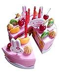 A142 Spielzeug-Torten Set, Geburtstags-Kuchen für Kinder-Küche Geschenk-Idee Weihnacht-en Geburtstags-Geschenk