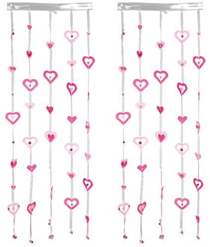 Made by You 13086 - Cortinas de corazones [Importado de Alemania]
