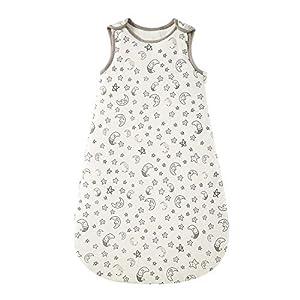 Saco de dormir para bebé de invierno, 2,5 tog, 100% algodón, diferentes tamaños, desde el nacimiento hasta la edad de 18…