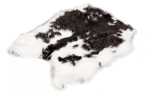 NaDeco Kaninchenfell Hasenfell gescheckt Dekofell Naturfell