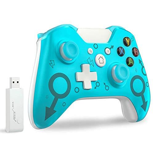 Controller wireless per Xbox One, compatibile con Xbox One S / One X / PS3 / One Elite / Windows 7/8/10(Nessun jack per le cuffie)