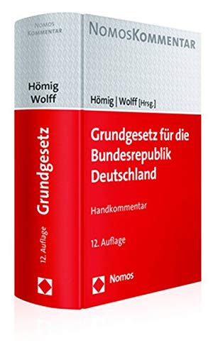 Grundgesetz für die Bundesrepublik Deutschland: Handkommentar