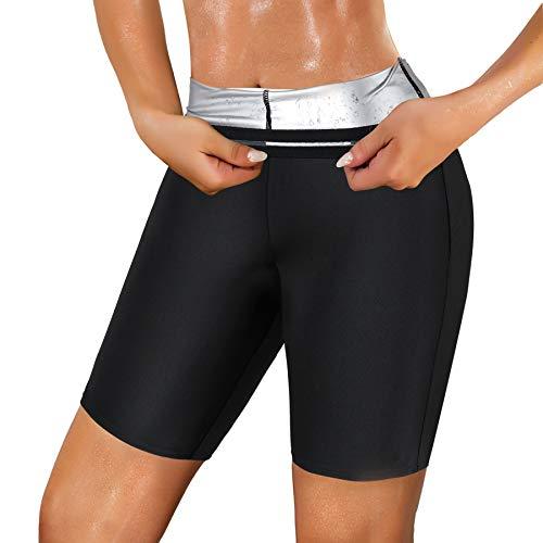 Ursexyly Women Sauna Sweat Shorts H…