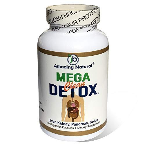Mega Clean Detox 600 mg 100 VegiCaps Dietary Supplements