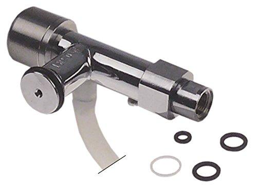 Melkopschuimer aansluiting 1/8 inch roestvrij staal