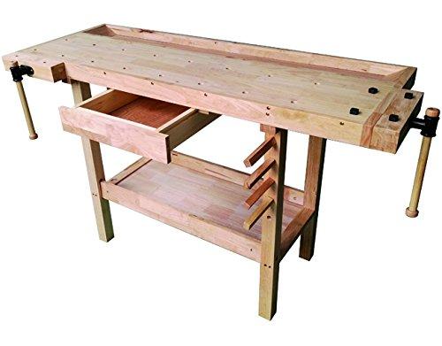 Vigor 4894510Werkbank Arbeit aus Holz, Braun