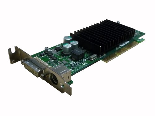 NVIDIA GeForce 4 MX440 64MB DDR AGP Low Profile Video Card w/DVI...